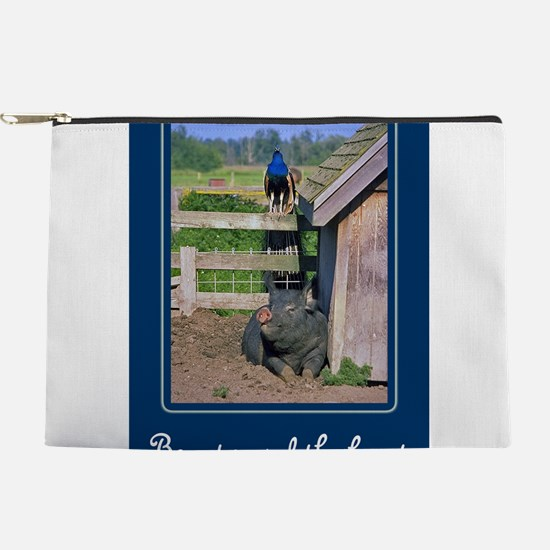 FIN-peacock-pig.png Makeup Pouch