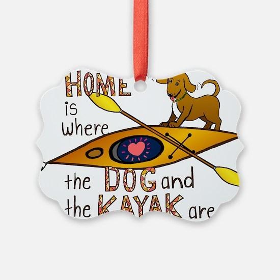 Cute Kayaks Ornament