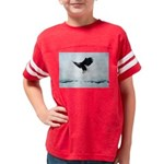 Soaring Bald Eagle Youth Football Shirt