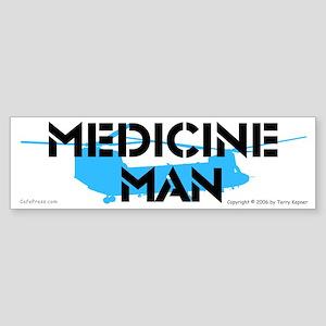Medicine Man: Chinook Bumper Sticker
