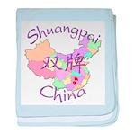 Shuangpai China baby blanket