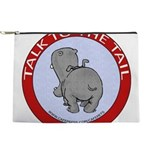 FIN-hippo-talk-tail-NEW Makeup Pouch