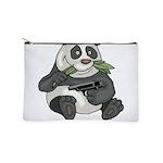 Panda Eats Shoots & Leaves Makeup Pouch