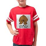 talk-tail-bear-2 Youth Football Shirt