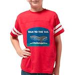 FIN-whale-talk-tail Youth Football Shirt