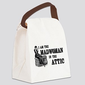 Madwoman In The Attic Canvas Lunch Bag