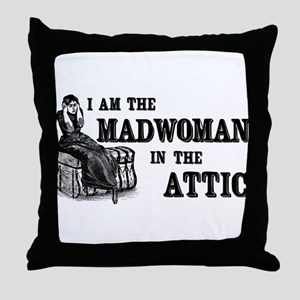 Madwoman In The Attic Throw Pillow