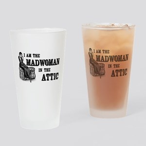 Madwoman In The Attic Drinking Glass