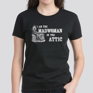 Madwoman In The Attic Women's Dark T-Shirt
