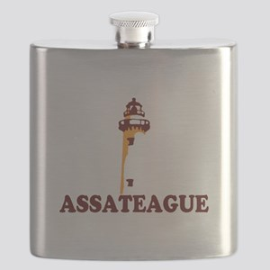 Assateague Island MD - Lighthouse Design. Flask