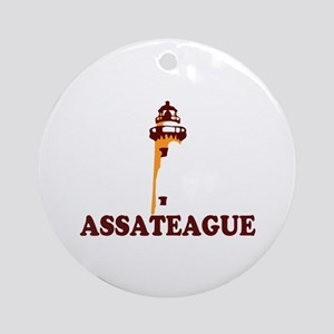 Assateague Island MD - Lighthouse Design. Ornament