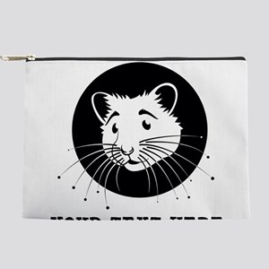 Personalized Hamster Makeup Pouch