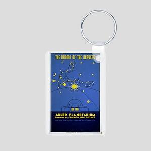 Adler Planetarium Chicago IL Keychains