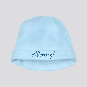 French Allons-y baby hat