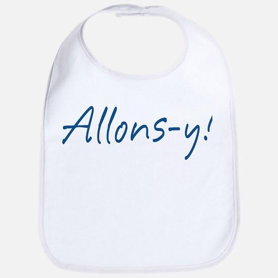 French Allons-y Bib