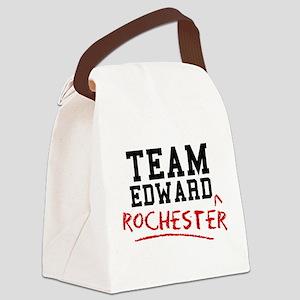Team Edward Rochester Canvas Lunch Bag