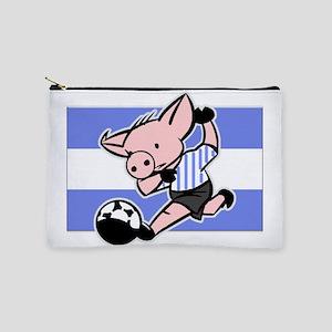argentina-soccer-pig Makeup Pouch