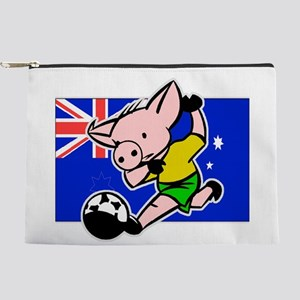 australia-soccer-pig Makeup Pouch