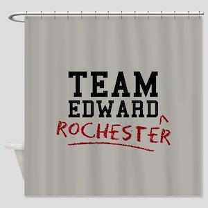 Team Edward Rochester Shower Curtain