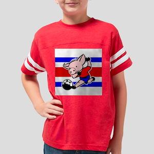 costa-rica-soccer-pig Youth Football Shirt