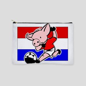 croatia-soccer-pig Makeup Pouch