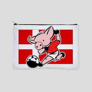 denmark-soccer-pig Makeup Pouch