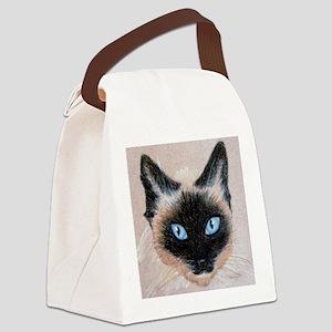 Wedgehead Siamese Canvas Lunch Bag