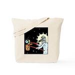 Nuclear Earth Tote Bag