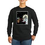 Nuclear Earth Long Sleeve Dark T-Shirt