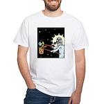 Nuclear Earth White T-Shirt
