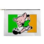 ireland-soccer-pig Makeup Pouch