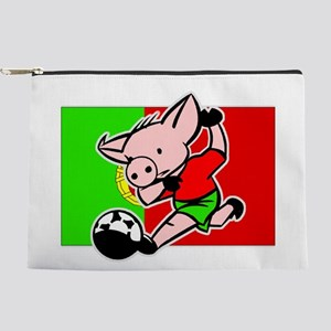 portugal-soccer-pig Makeup Pouch