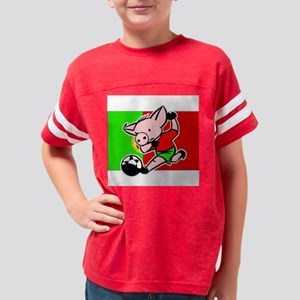 portugal-soccer-pig Youth Football Shirt
