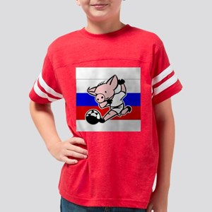 russia-soccer-pig Youth Football Shirt