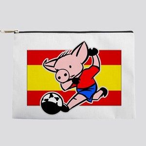 spain-soccer-pig Makeup Pouch