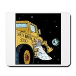 Gods Earth mover Mousepad