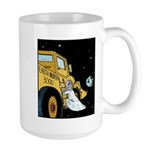 Gods Earth mover Large Mug