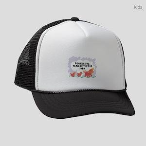 born-year-pig-1959 Kids Trucker hat