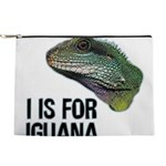 I Is for Iguana Makeup Pouch