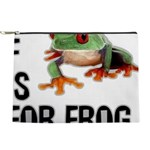 f-is-for-frog-10x10 Makeup Pouch