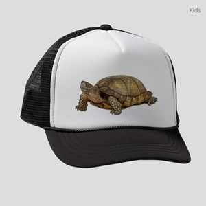 FIN-box-turtle Kids Trucker hat