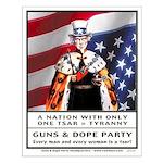 Uncle Sam Tsar 16 x 20 Poster