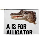 a-is-for-alligator Makeup Pouch
