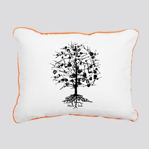 Guitartree Rectangular Canvas Pillow