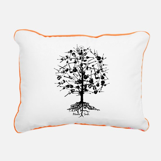 Guitartree Rectangular Canvas Pillow