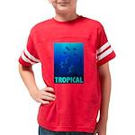 tropical-fish-CROP-text Youth Football Shirt