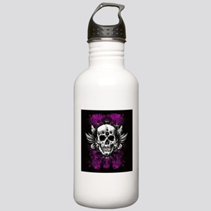 Grunge Skull Stainless Water Bottle 1.0L