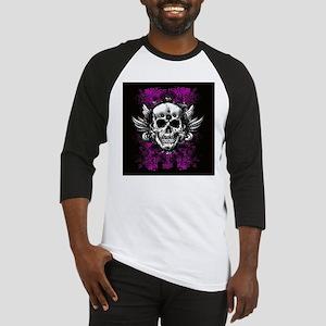 Grunge Skull Baseball Jersey