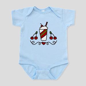 Cherry Drink Infant Bodysuit