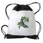 butterfly-5 Drawstring Bag